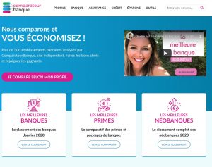 Home Page Comparateur Banque
